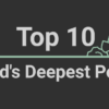 Top 10 World's Deepest Points